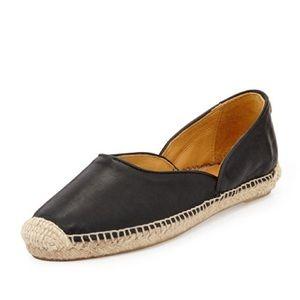 Rag & Bone Georgie Leather Espadrille Shoes 38